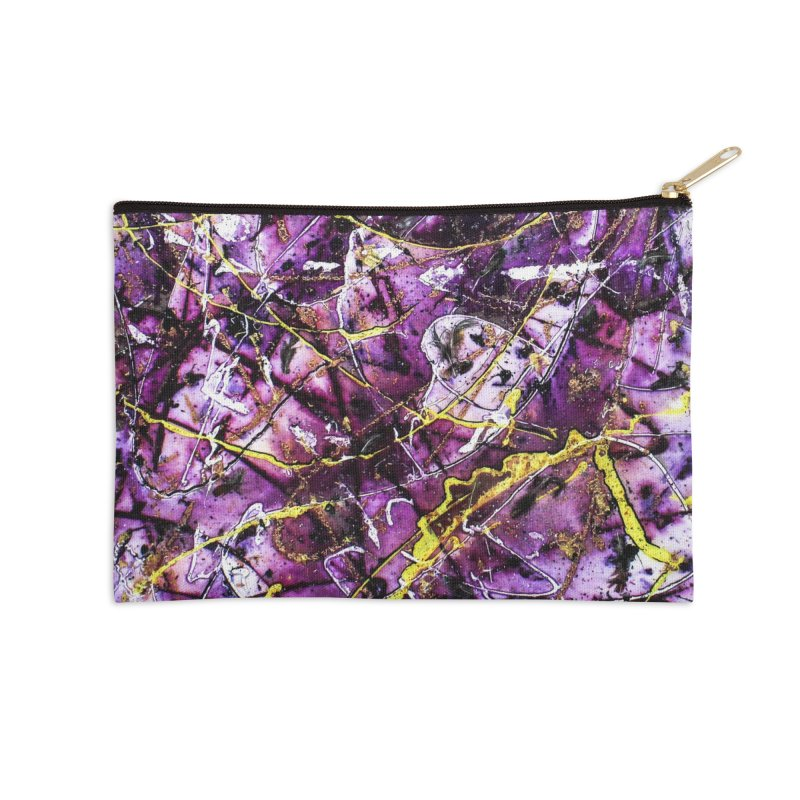 Lavender Love Accessories Zip Pouch by Art By Poli