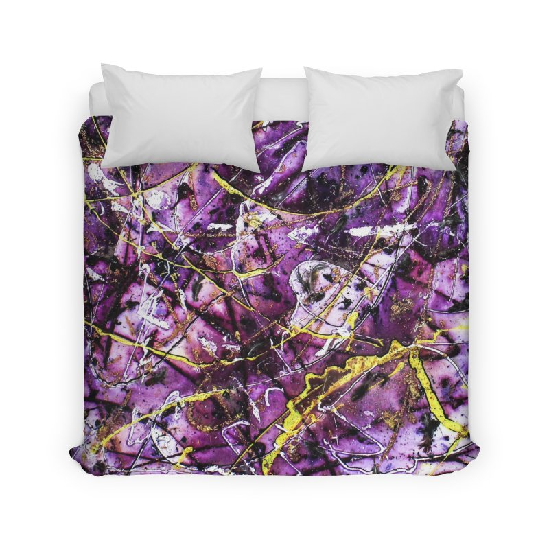 Lavender Love Home Duvet by Art By Poli