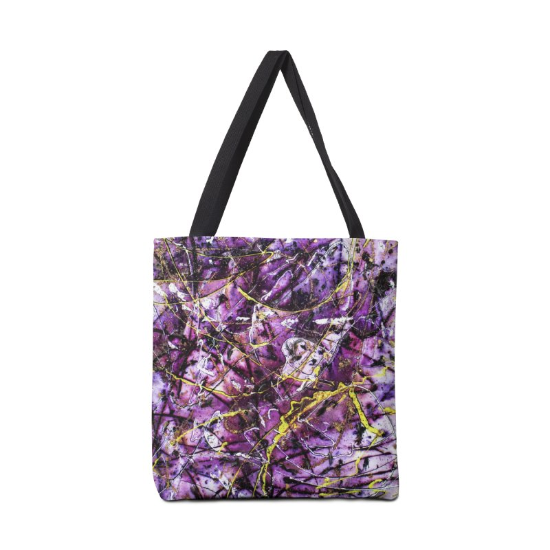 Lavender Love Accessories Tote Bag Bag by Art By Poli