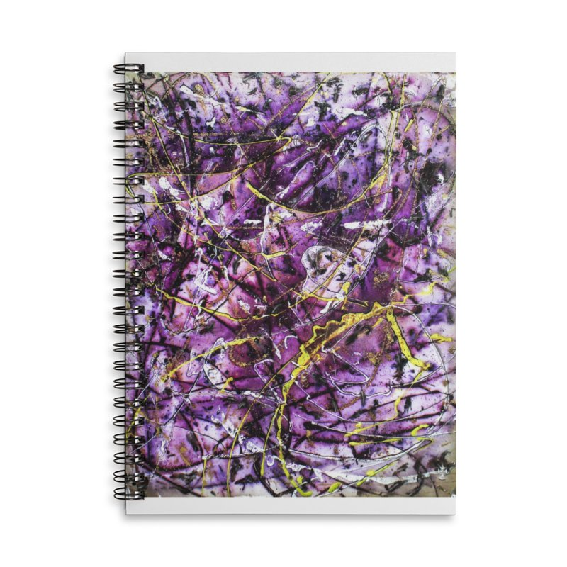 Lavender Love Accessories Lined Spiral Notebook by Art By Poli