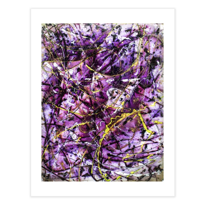 Lavender Love Home Fine Art Print by Art By Poli