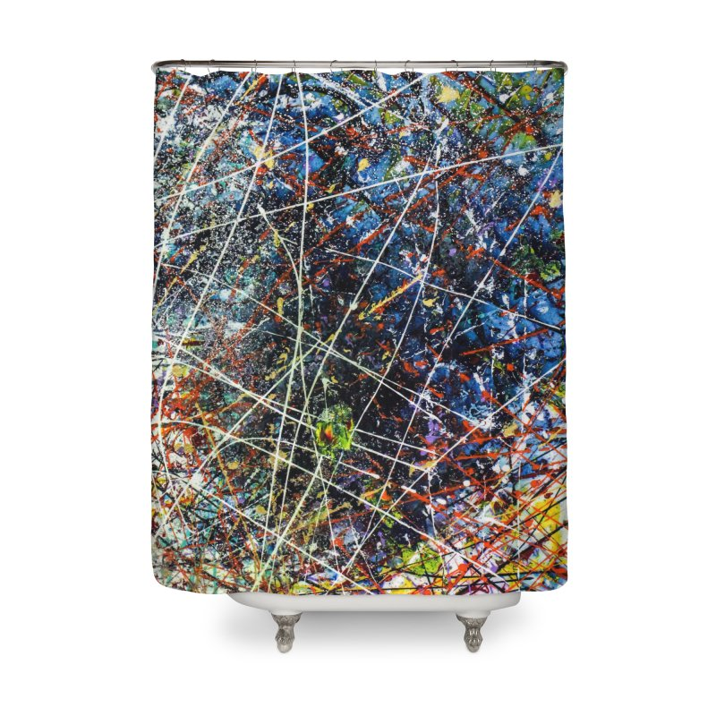 The Reef Home Shower Curtain by Art By Poli