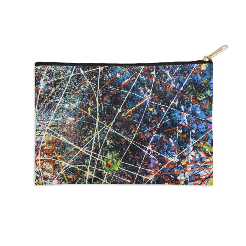 The Reef Accessories Zip Pouch by Art By Poli