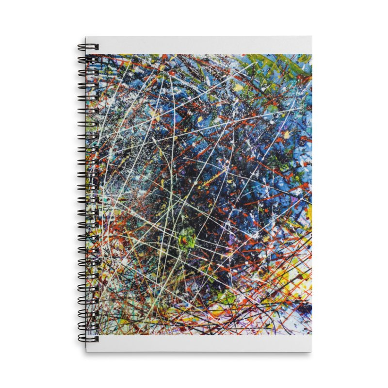 The Reef Accessories Lined Spiral Notebook by Art By Poli
