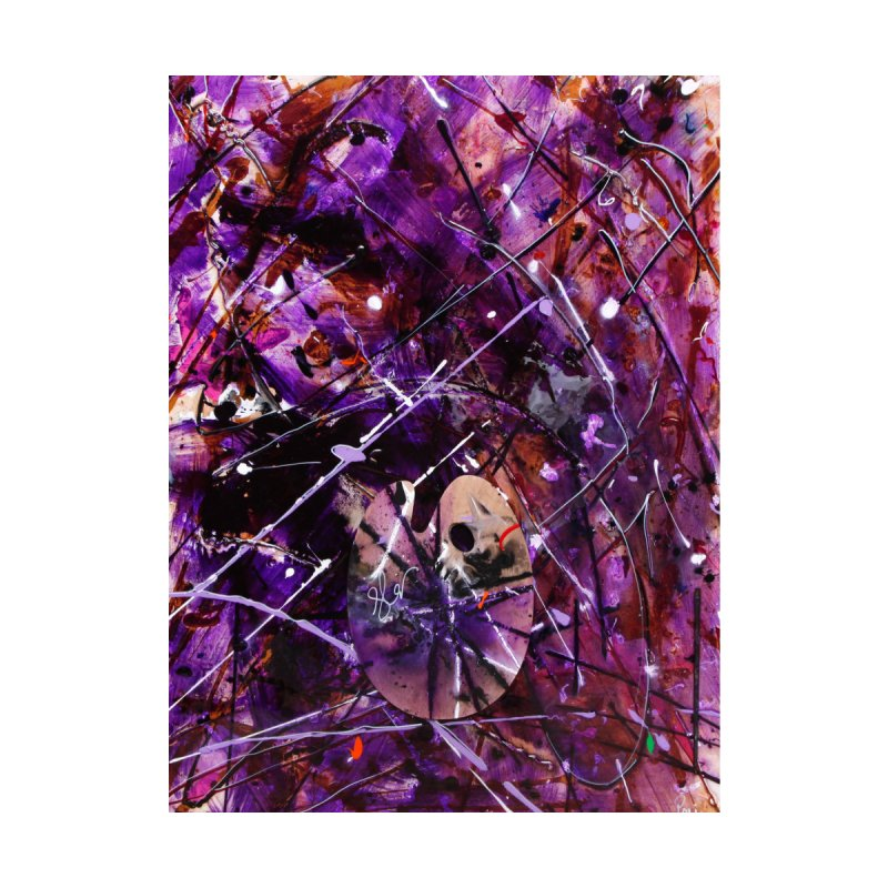 Purple Passion Home Fine Art Print by Art By Poli