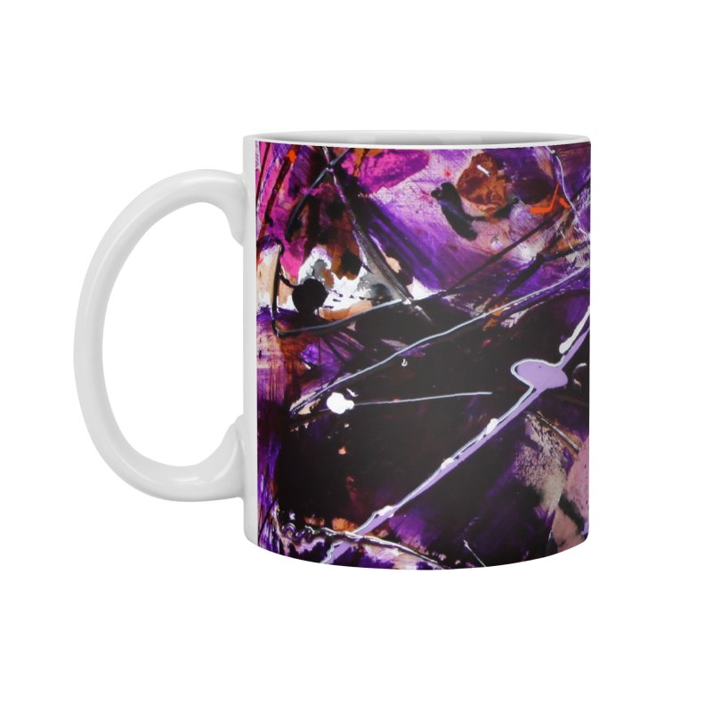 Purple Passion Accessories Standard Mug by Art By Poli