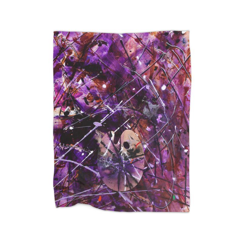 Purple Passion Home  by Art By Poli