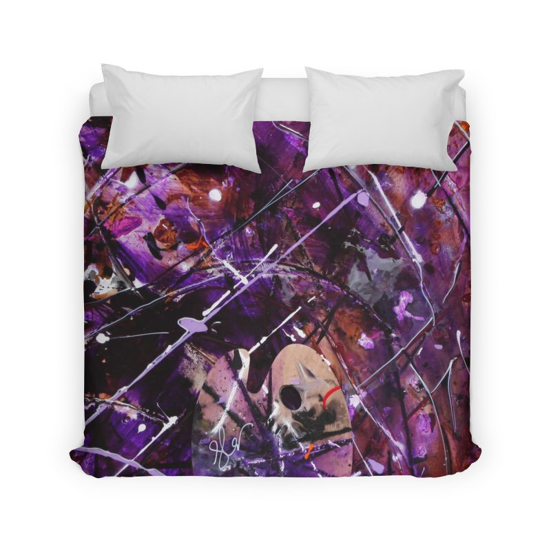 Purple Passion Home Duvet by Art By Poli