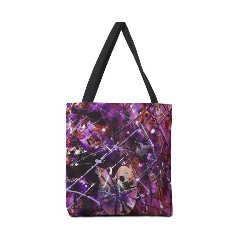 Purple Passion Accessories Bag by Art By Poli