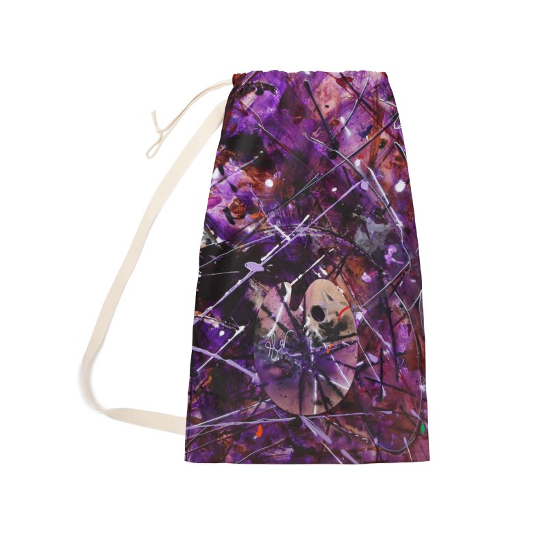 Purple Passion Accessories Laundry Bag Bag by Art By Poli