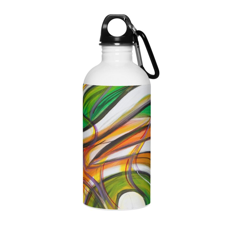 Frenzied Accessories Water Bottle by Art By Poli