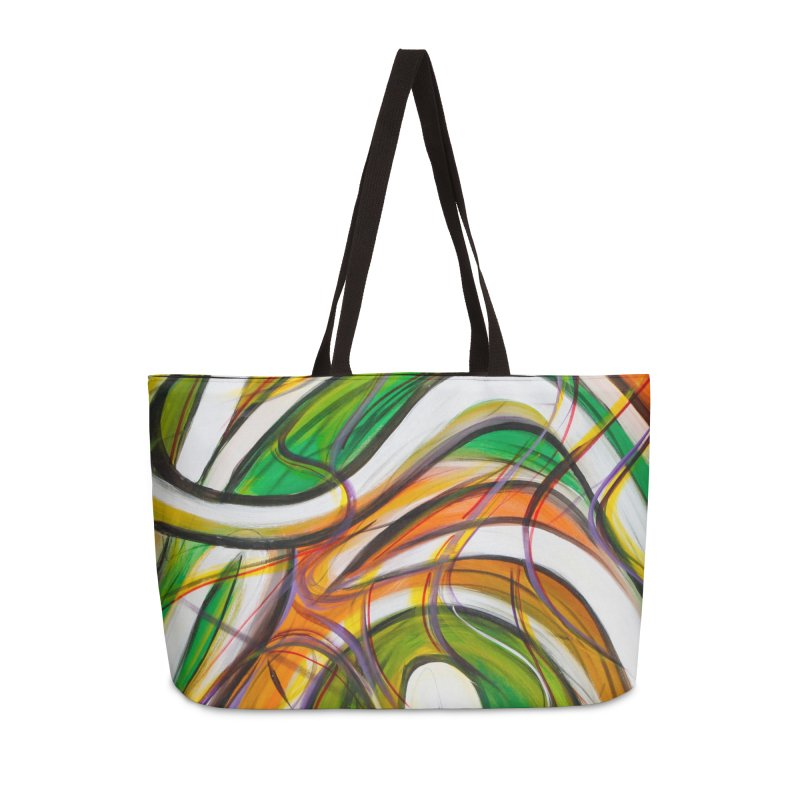 Frenzied Accessories Weekender Bag Bag by Art By Poli