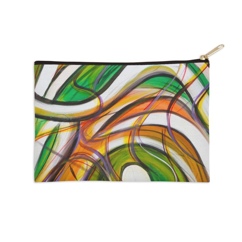 Frenzied Accessories Zip Pouch by Art By Poli