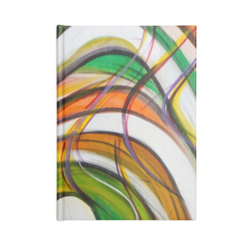 Frenzied Accessories Lined Journal Notebook by Art By Poli