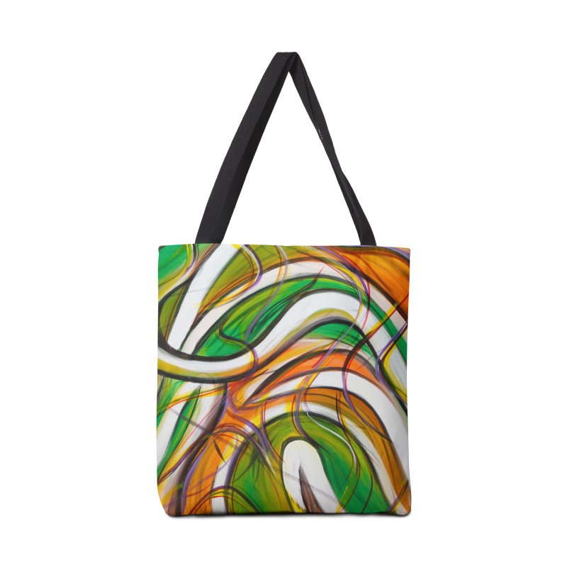 Frenzied Accessories Tote Bag Bag by Art By Poli