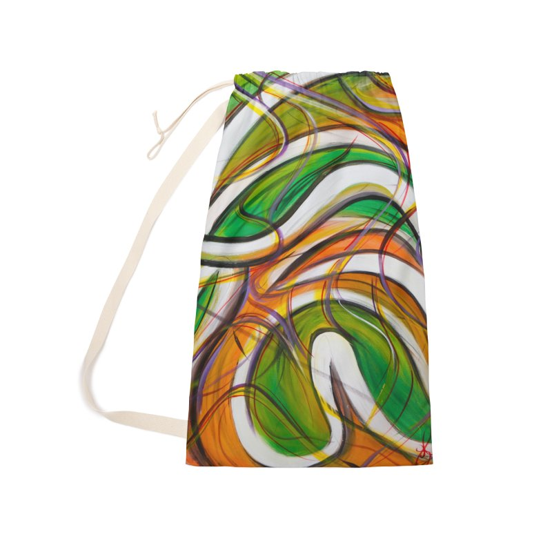 Frenzied Accessories Laundry Bag Bag by Art By Poli