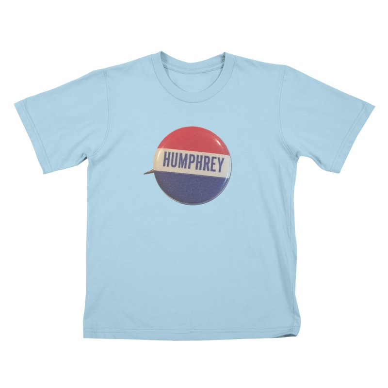Hubert Humphrey for President Kids T-shirt by Vintage Political Button Shirts