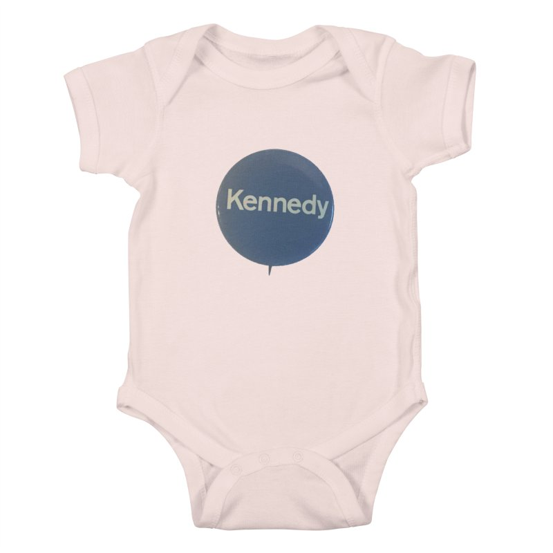 Bobby Kennedy for President (1968) Kids Baby Bodysuit by Vintage Political Button Shirts