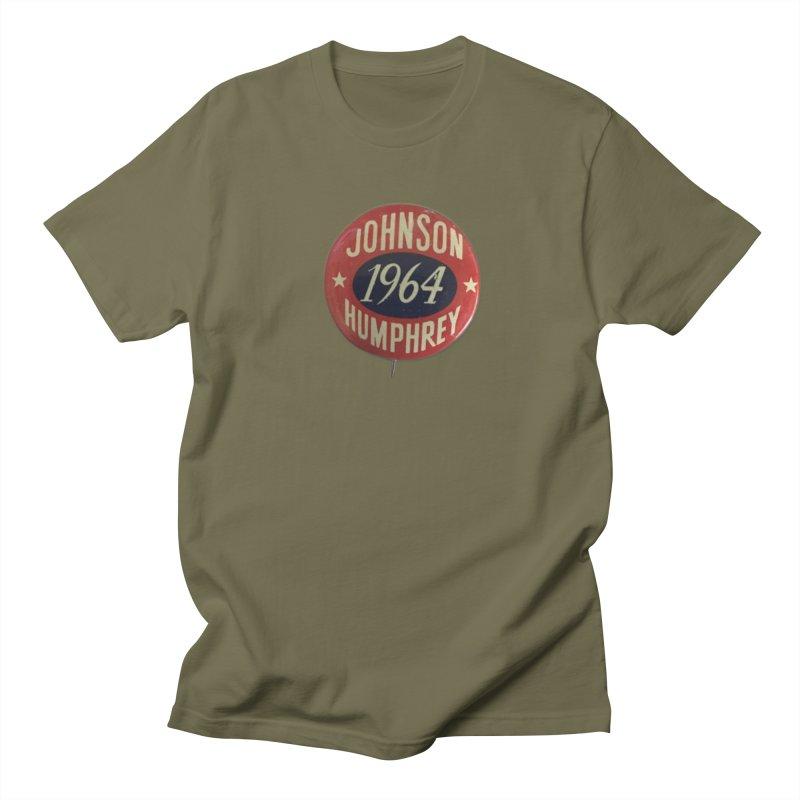Johnson-Humphrey-1964 Men's T-shirt by Vintage Political Button Shirts