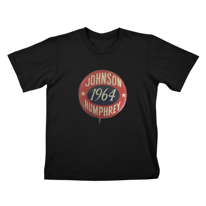 Johnson-Humphrey-1964 Kids T-shirt by Vintage Political Button Shirts