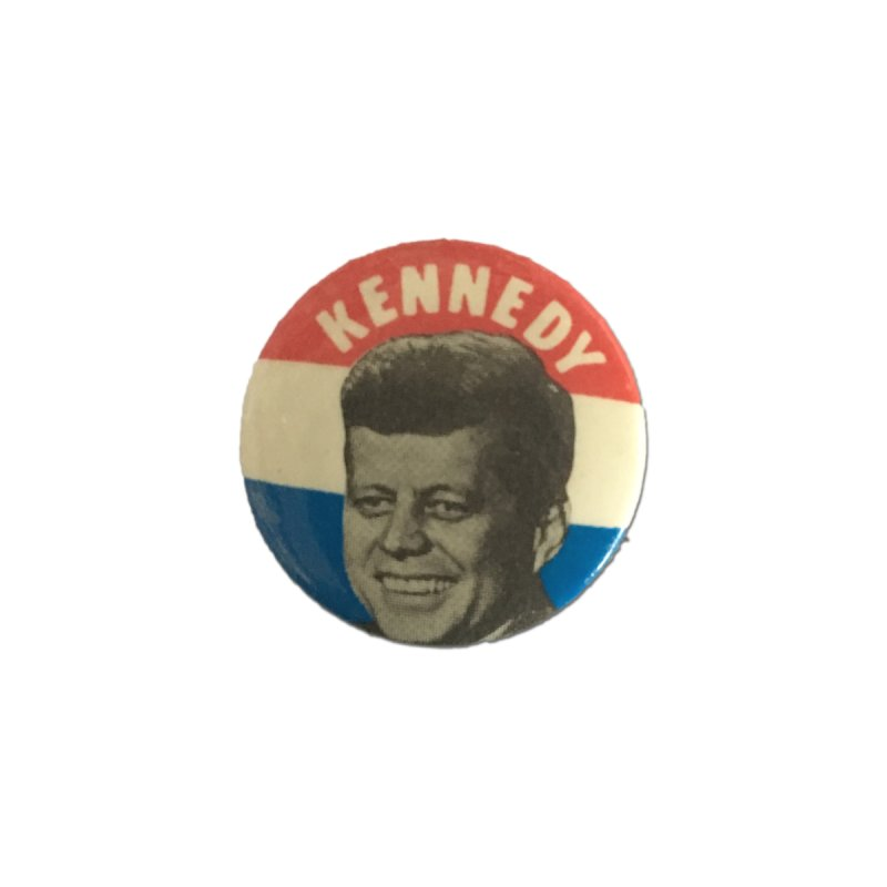 John F Kennedy 1960 by Vintage Political Button Shirts