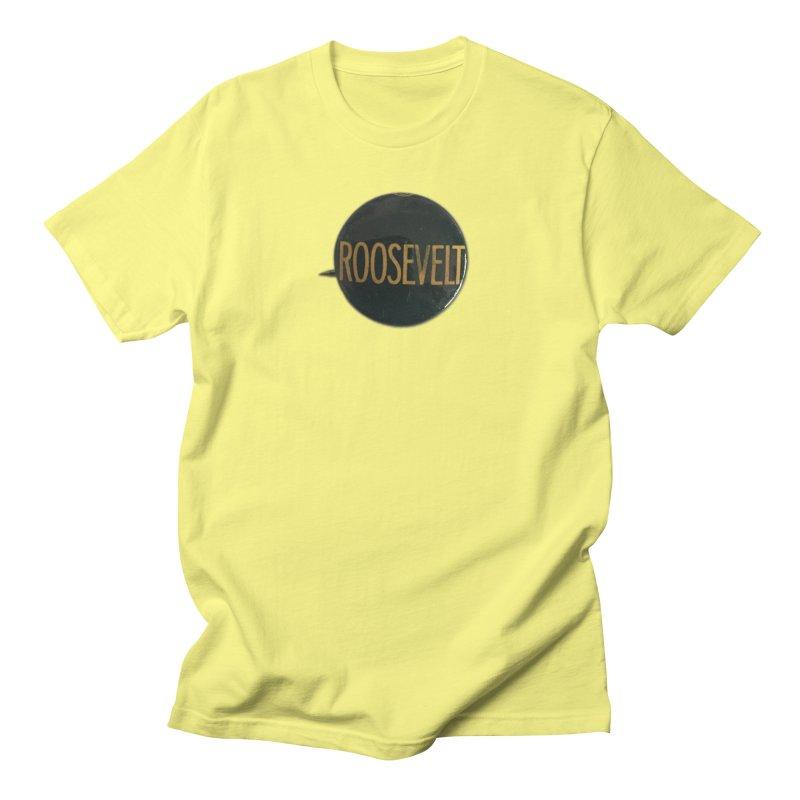 Franklin Delano Roosevelt Men's T-shirt by Vintage Political Button Shirts