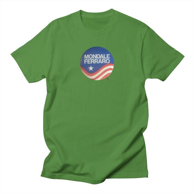Mondale for President Men's T-shirt by Vintage Political Button Shirts