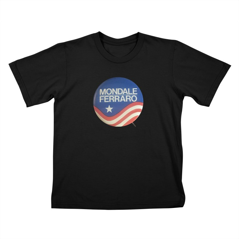Mondale for President Kids T-shirt by Vintage Political Button Shirts