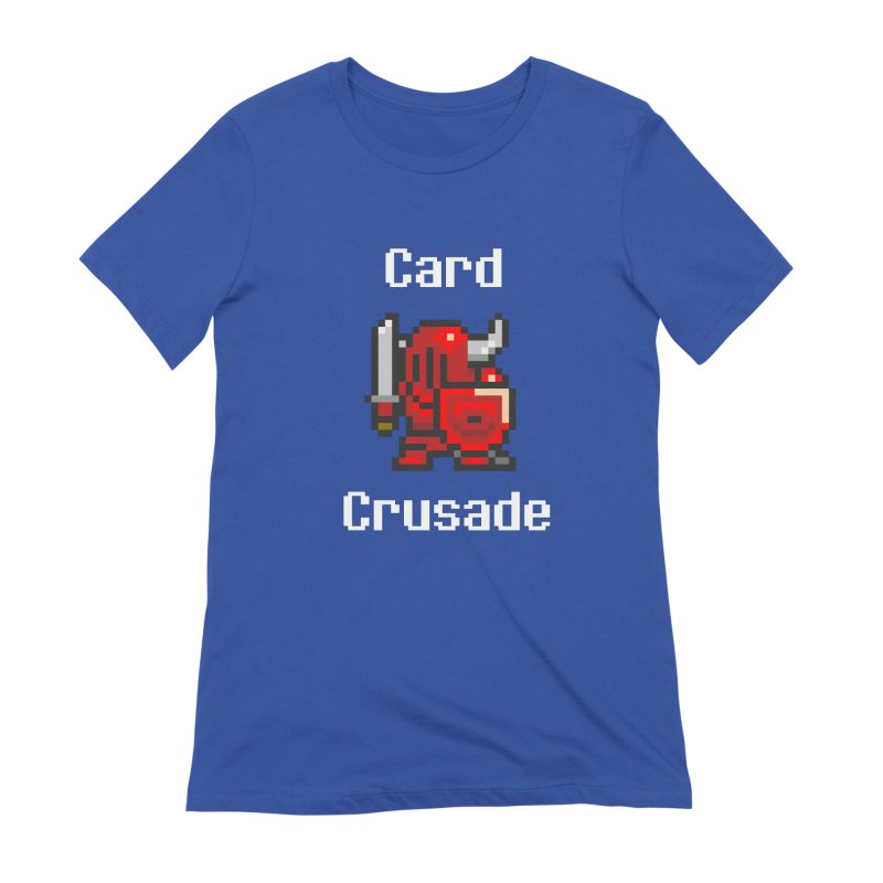 Card Crusade Women's Extra Soft T-Shirt by Pollywog Games Merch