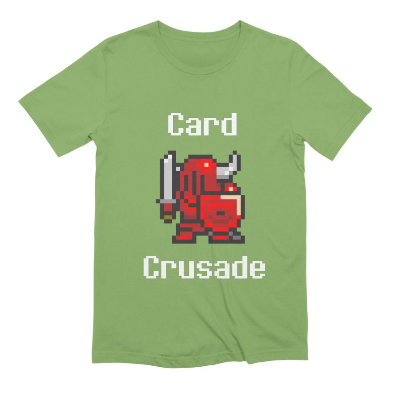 Card Crusade Men's Extra Soft T-Shirt by Pollywog Games Merch