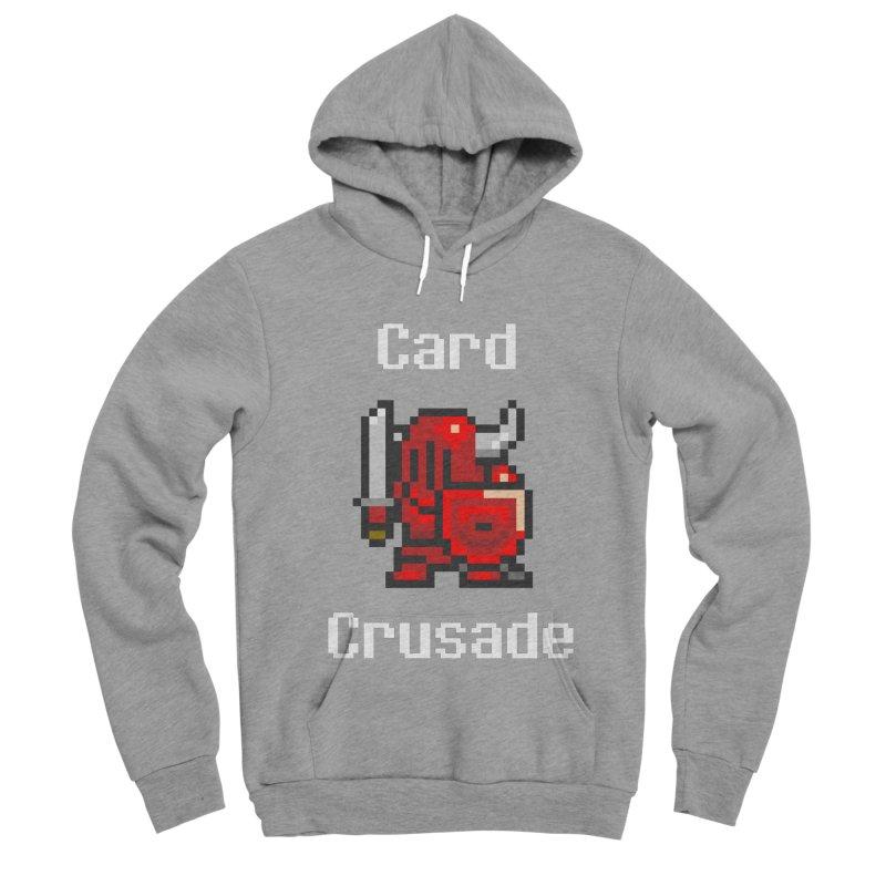 Card Crusade Women's Sponge Fleece Pullover Hoody by Pollywog Games Merch