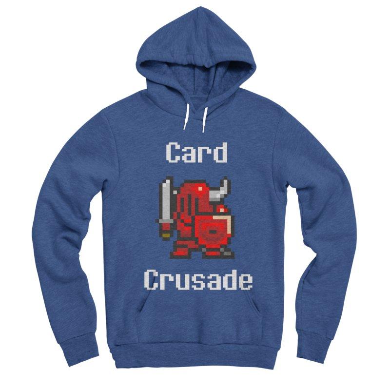 Card Crusade Men's Sponge Fleece Pullover Hoody by Pollywog Games Merch