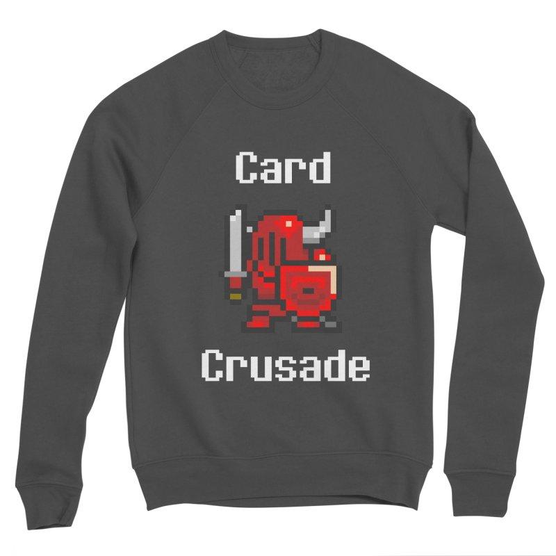 Card Crusade Men's Sponge Fleece Sweatshirt by Pollywog Games Merch