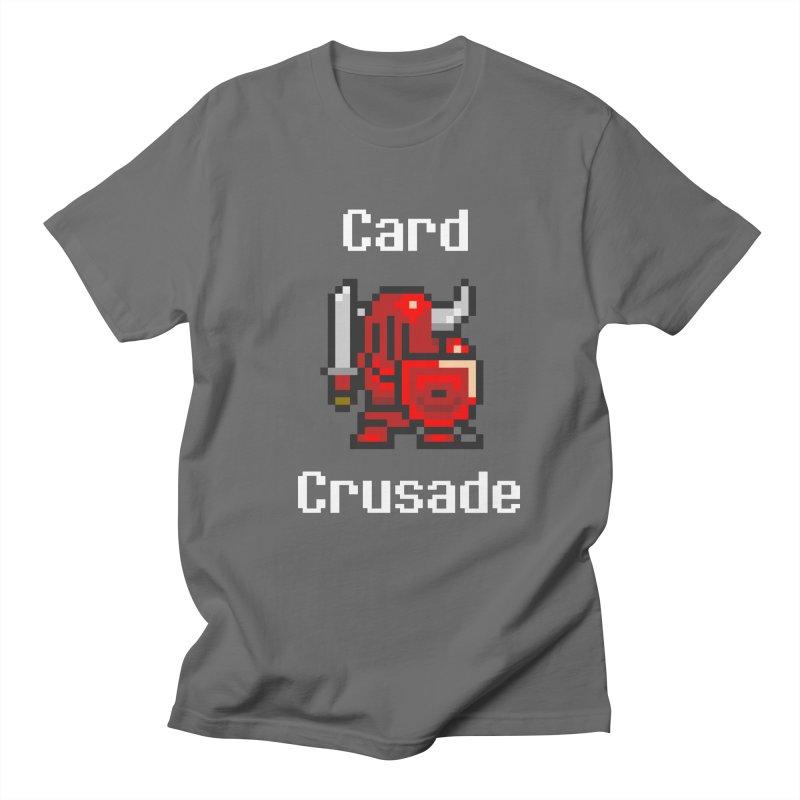Card Crusade Men's T-Shirt by Pollywog Games Merch