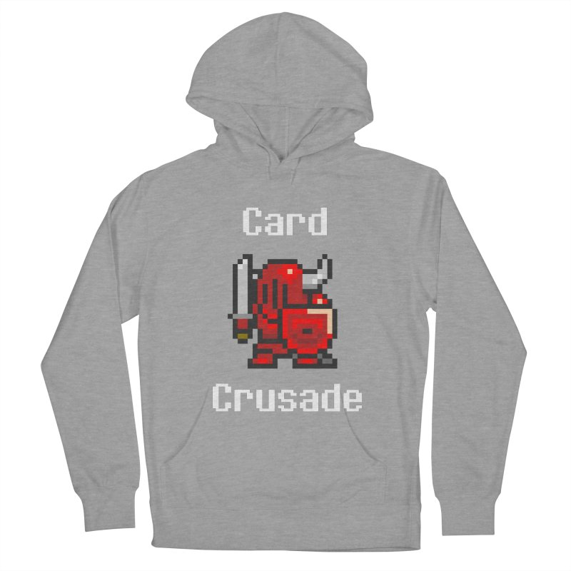 Card Crusade Women's French Terry Pullover Hoody by Pollywog Games Merch