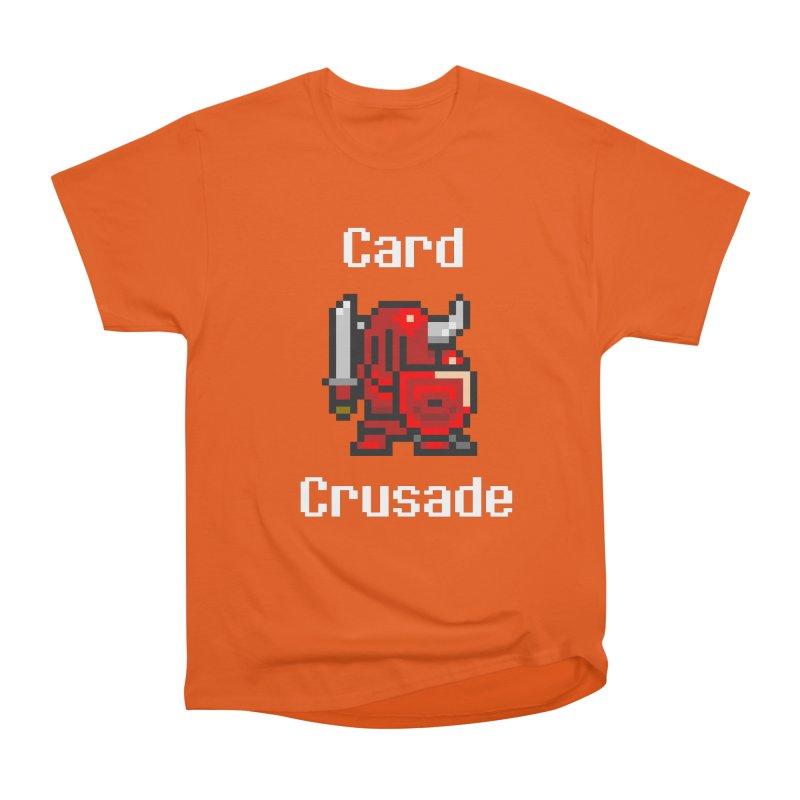 Card Crusade Women's Heavyweight Unisex T-Shirt by Pollywog Games Merch