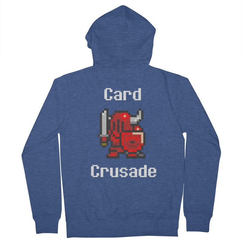 Card Crusade Women's French Terry Zip-Up Hoody by Pollywog Games Merch