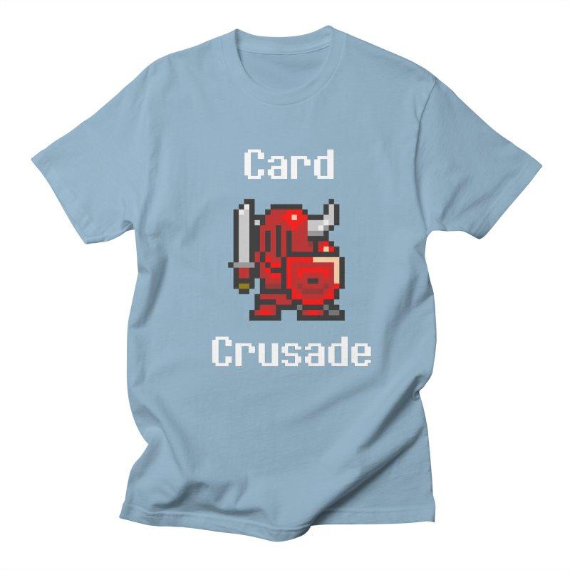 Card Crusade Men's Regular T-Shirt by Pollywog Games Merch