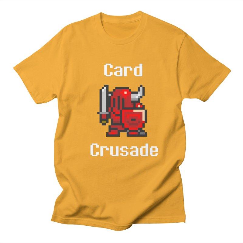 Card Crusade Women's Regular Unisex T-Shirt by Pollywog Games Merch