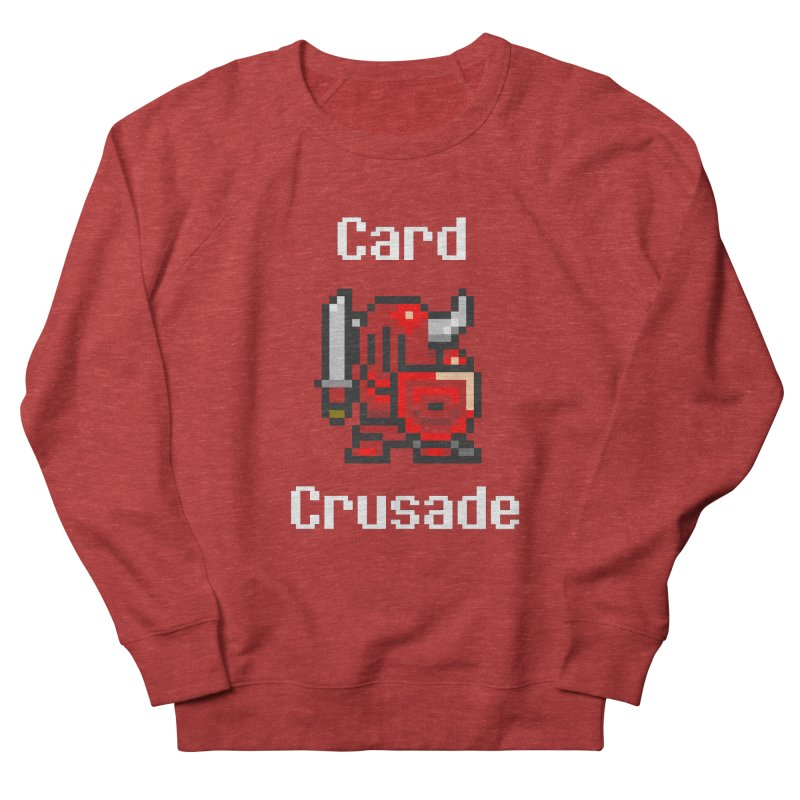 Card Crusade Women's French Terry Sweatshirt by Pollywog Games Merch