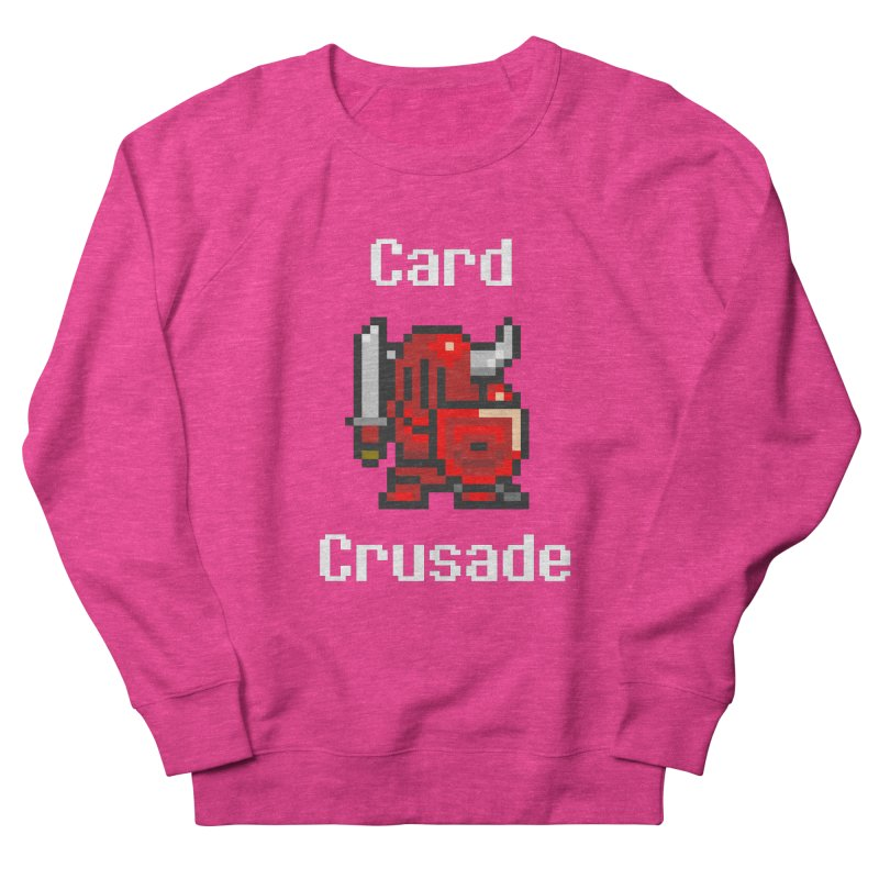 Card Crusade Men's French Terry Sweatshirt by Pollywog Games Merch
