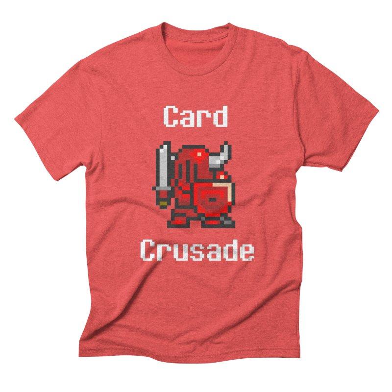 Card Crusade Men's Triblend T-Shirt by Pollywog Games Merch