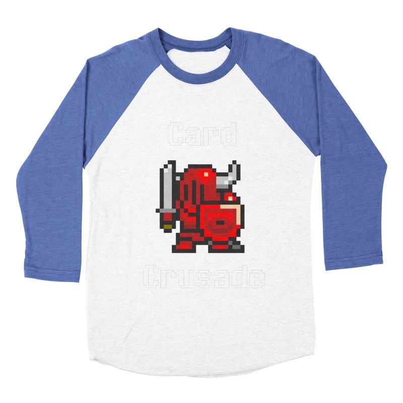 Card Crusade Men's Baseball Triblend Longsleeve T-Shirt by Pollywog Games Merch
