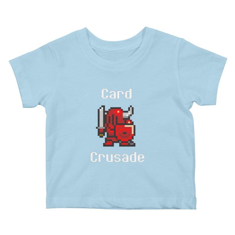 Card Crusade Kids Baby T-Shirt by Pollywog Games Merch