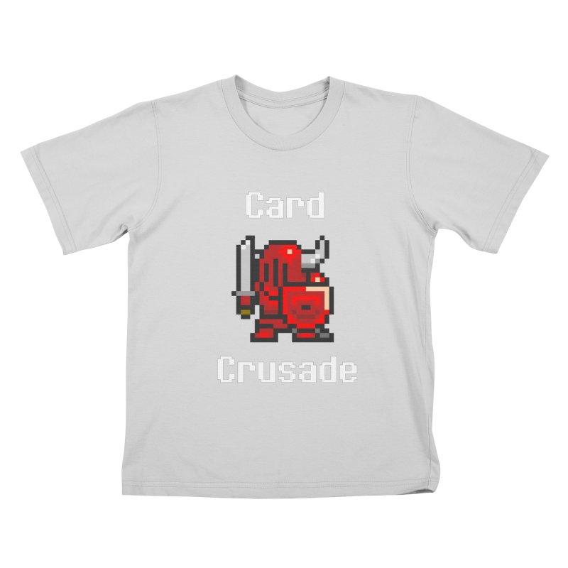 Card Crusade Kids T-Shirt by Pollywog Games Merch