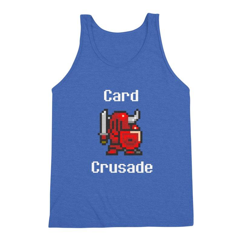 Card Crusade Men's Triblend Tank by Pollywog Games Merch