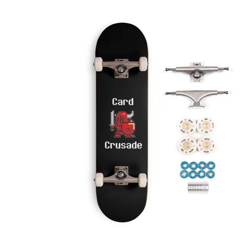 Card Crusade Accessories Complete - Premium Skateboard by Pollywog Games Merch