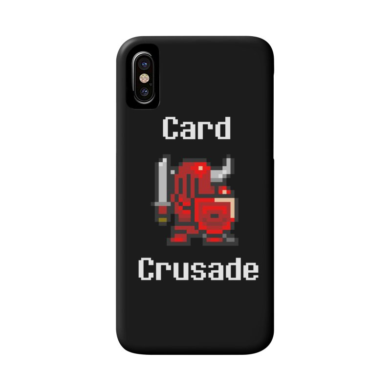 Card Crusade Accessories Phone Case by Pollywog Games Merch