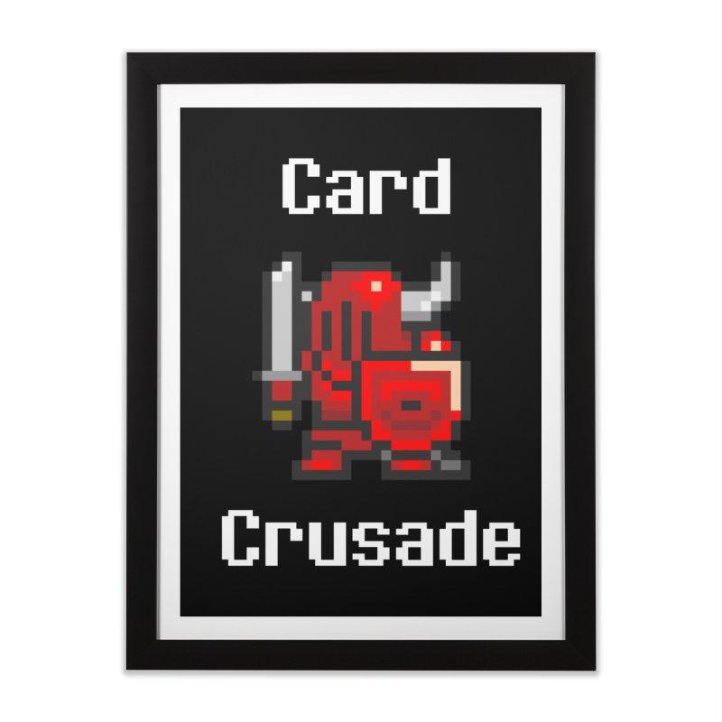 Card Crusade Home Framed Fine Art Print by Pollywog Games Merch
