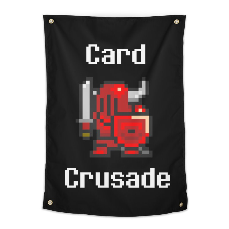 Card Crusade Home Tapestry by Pollywog Games Merch